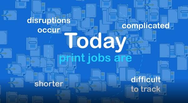 Todays print jobs